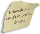 Educational stuffs, books design