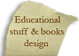 Educational stuff & books design